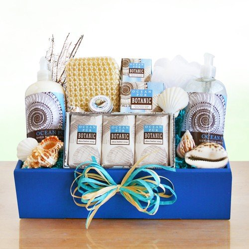 Sea Breeze Escape Gift Basket