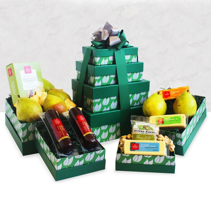 Fancy and Fresh Gourmet Fruit Tower