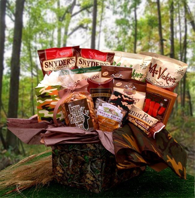 A Hunting Camo Care Gift Box for Men or Women