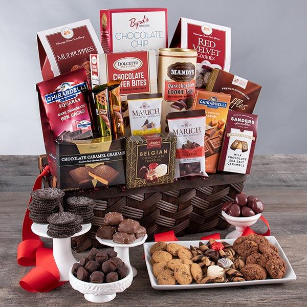 Chocolate Madness: Valentine's Day Gift Chocolate Basket