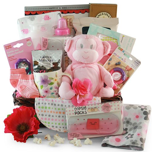 Baby Essentials: Baby Gift Basket - Choose Boy, Girl or Neutral