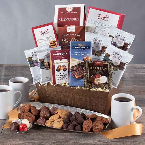 Coffee & Chocolate Classic: Gourmet Coffee Gift Basket