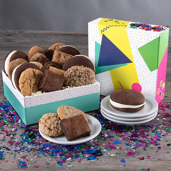 Back to the 80's: Baked Goods Gift Box