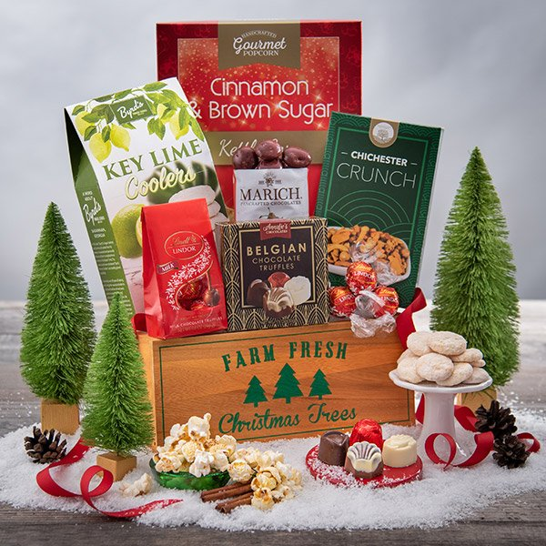 A Taste Of Christmas: Gourmet Holiday Gift Basket