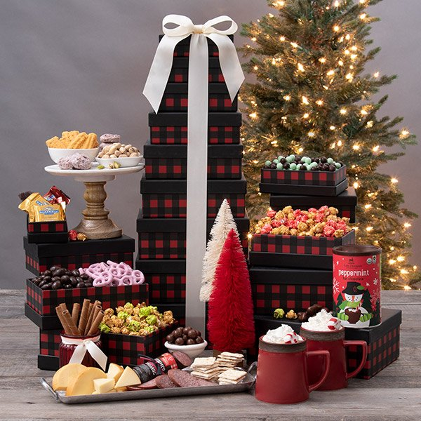 O Holy Night: Gourmet Holiday Gift Tower