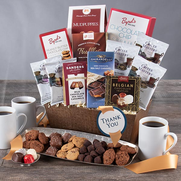 Sincere Thanks: Gourmet Thank You Gift Basket