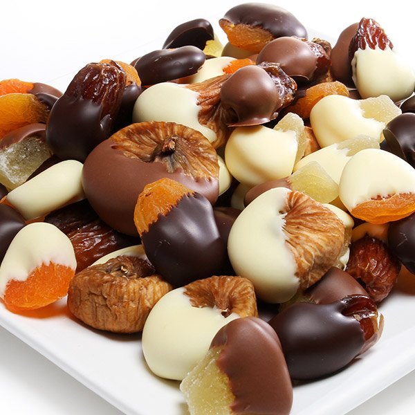Chocolate Covered Dried Fruit Assortment