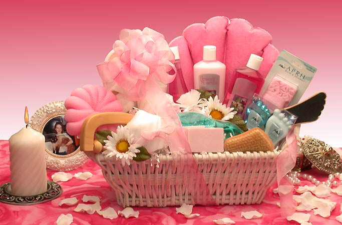 Ultimate Spa Relaxation Woman's Gift Basket