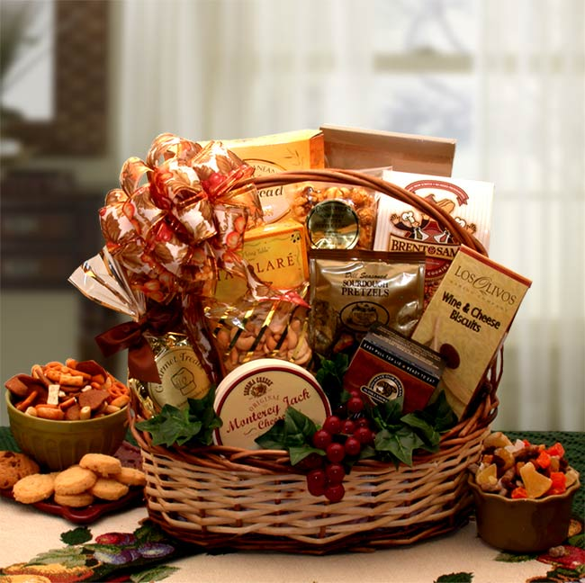 Bountiful Delicious Gourmet Gift Basket