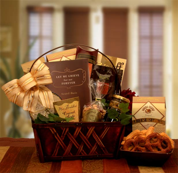 A Grieving Time Sympathy Gift Basket
