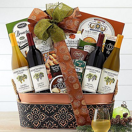 Grgich Hills Napa Valley Collection: Premium Wine Basket